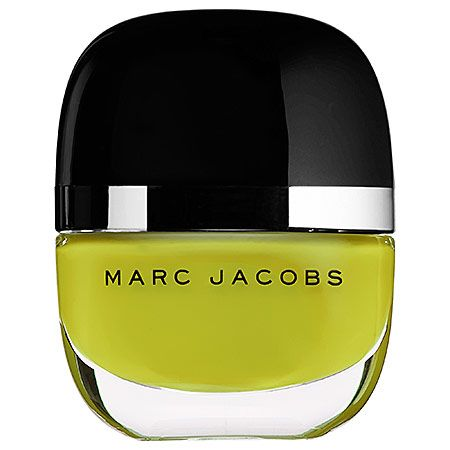 Marc Jacobs Nail Polish in Opaque Chartreuse Yellow, $18