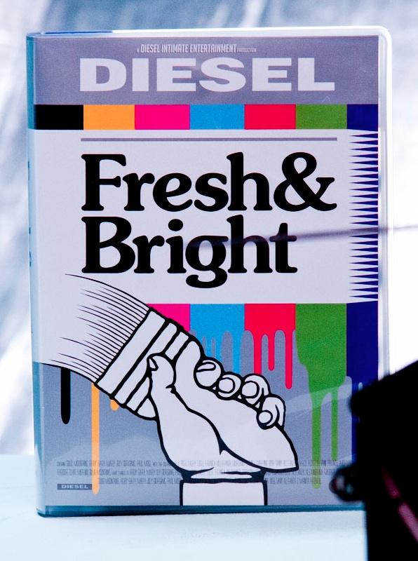Diesel Fresh & Bright. Images courtesy of Ben and Julia.    http://www.diesel.com/freshandbright/