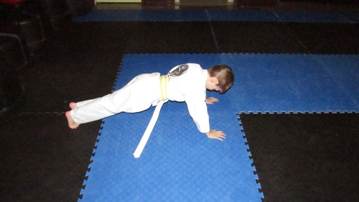 Fitness is an important component of Martial Arts!