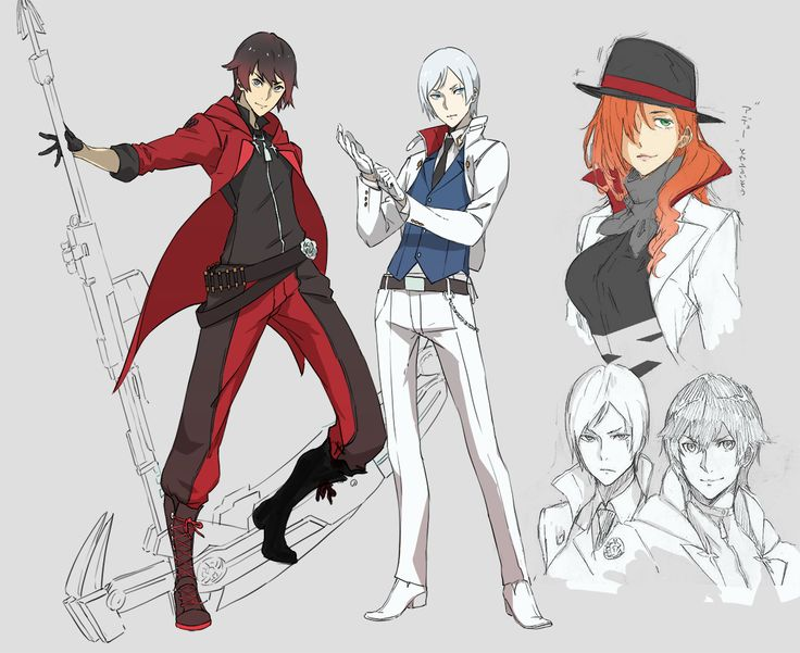 Ruby Rose and Weiss Schnee gendernent