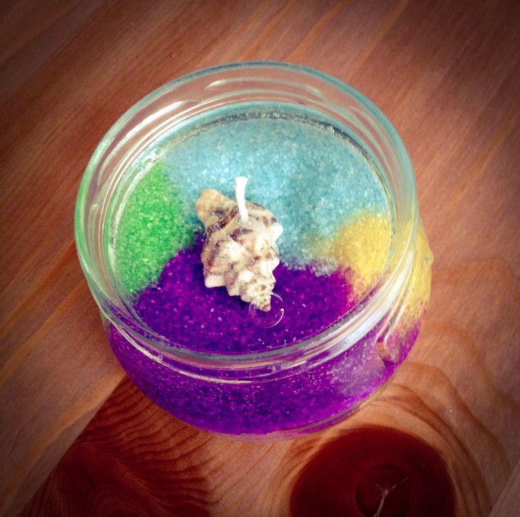 10 migliori idee su candele di gel su pinterest fare - Candele di cera fatte in casa ...