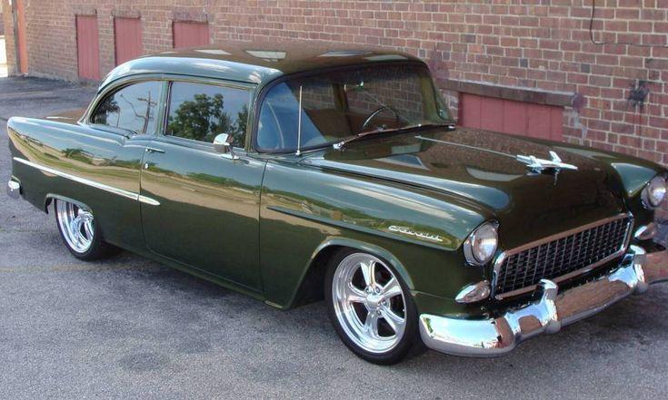 Custom street trucks custom 1955 chevy 210 2 door post for 1955 chevy 2 door sedan
