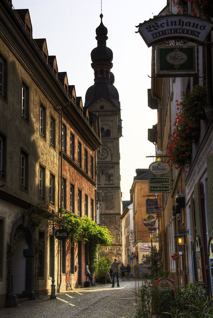 liebesdeutschland:  Koblenzer Altstadt  Koblenz (Rheinland-Pfalz), Deutschland