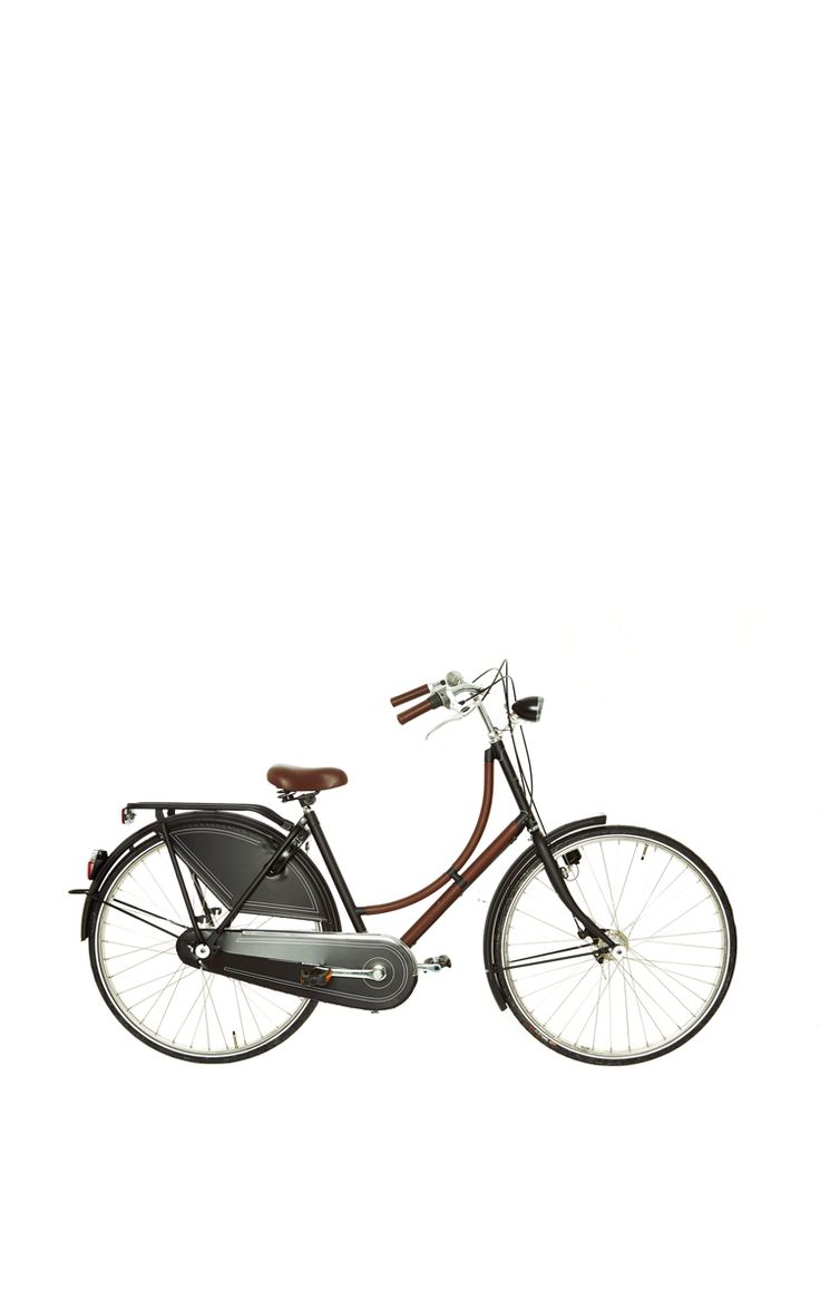 Hermes Black Metal Bicycle by What Goes Around Comes Around for Preorder on Moda Operandi