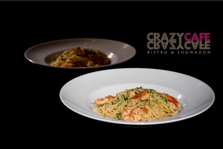 Shrimp home made pasta