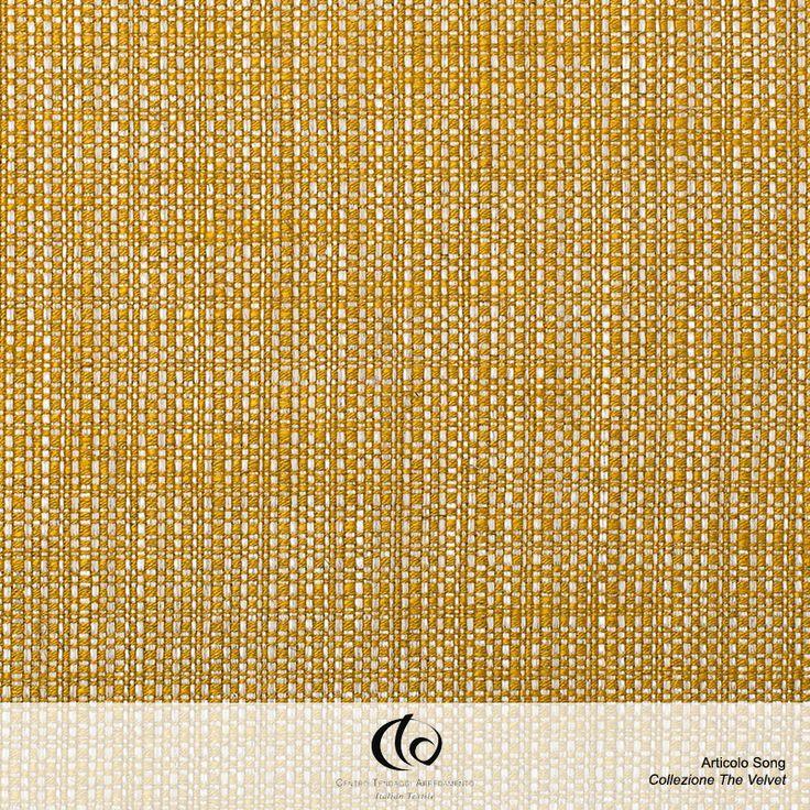 SONG, più che un semplice tessuto. Tessuto composto da 37% LI 33% VI 17% PL 13% CO. Disponibile in 9 nuance di colore differenti. Ideale per tendaggio, decorazioni, tappezzeria leggera e pesante. Song sposa lo spirito della collezione dei velluti grazie al filo di trama che gli conferisce eleganza e lucentezza mitigando la naturalità dell'effetto di ordito della viscosa lino. L'ordito costituisce invece l'elemento che crea la possibilità di coordinare l'unito al colore di pelo.  #Collezione…