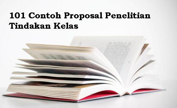 101 Contoh Proposal Penelitian Tindakan Kelas Pinterest Proposals
