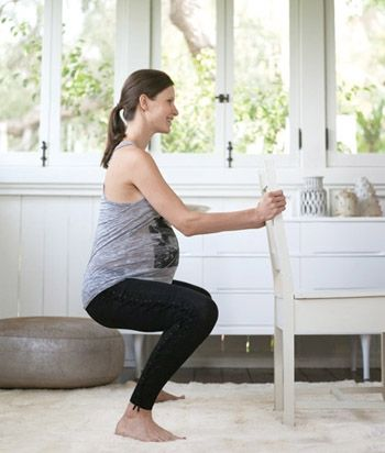 Ready, Set, Push! Workout  Strengthen your abs and pelvic floor to prepare for delivery.