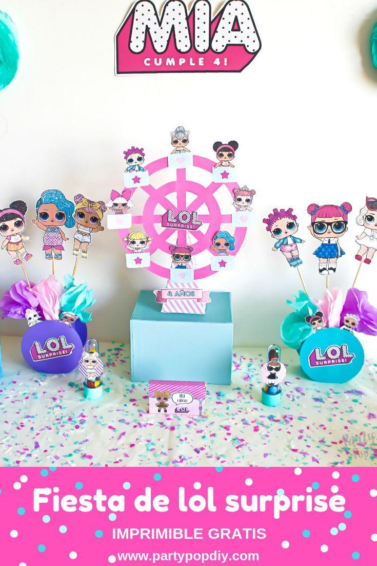 fiesta lol surprise imprimible gratis #lolsurprise #imprimible – Fiestas Temáticas Infantiles ♥