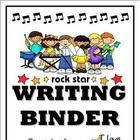 Looking for the perfect accent for your elementary students' Rock Star or Rock and Roll theme writing binders? Look no further. This printable is a...