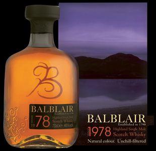 Balblair 1978 Whisky from Whisky Please.