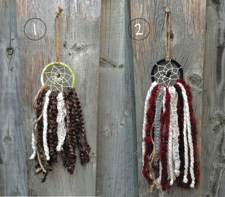 Magical Forest Minis // Dream Catchers by NSKHandCraftedDesign on Etsy