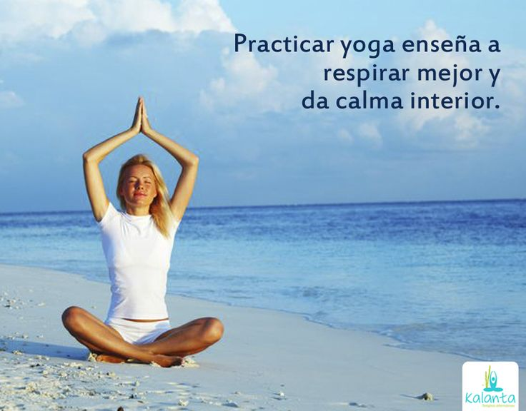 Yoga, calma interior.
