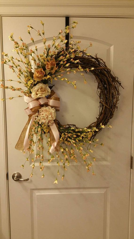 Check out this item in my Etsy shop https://www.etsy.com/listing/481584419/24-victorian-rose-grapevine-wreath