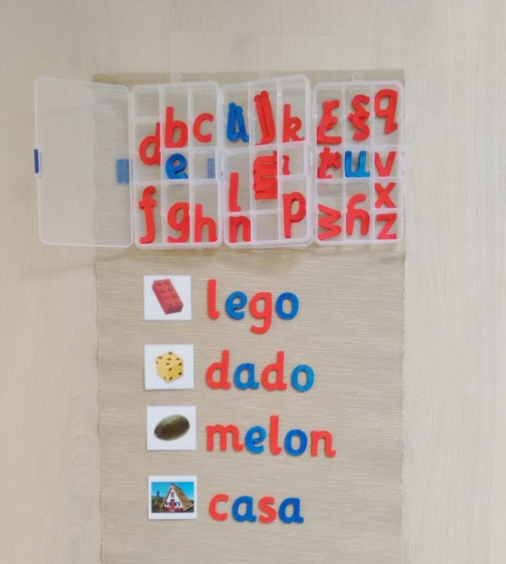 Cómo presentar el alfabeto móvil - How to introduce the movable alphabet • Montessori en Casa