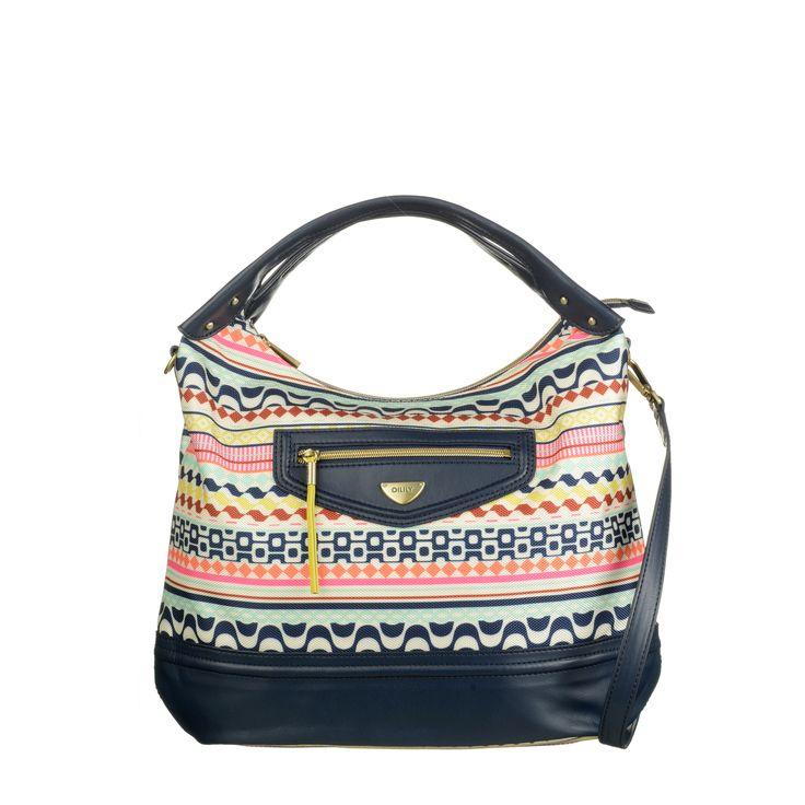 OILILY Women's Wear - Spring Summer 2015 - Hobo bag