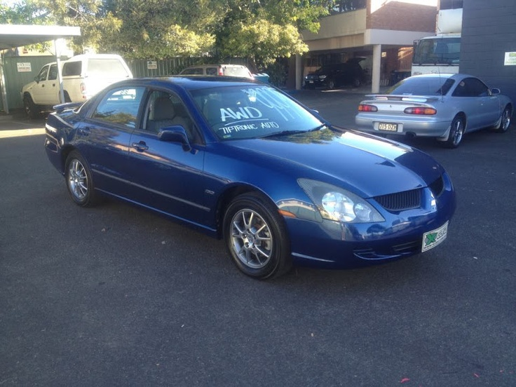 WAS $9995 NOW BELOW COST reduced to $6995 2004 MITSUBISHI MAGNA ALL WHEEL DRIVE, AUTO/TIP TRONIC