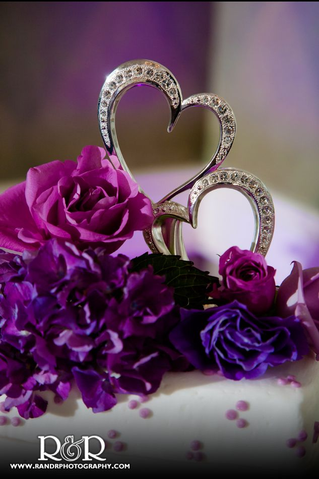 Purple Hearts Wedding 17 Best images about A...