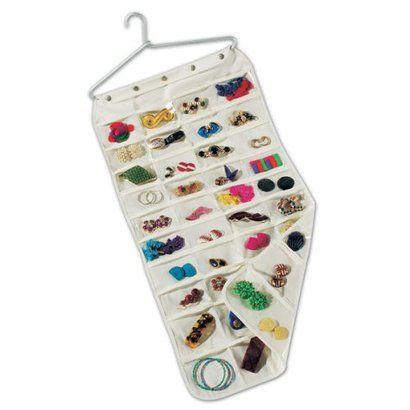 Household Essentials Jewelry Organizer 80 Pockets..at Target. I NEED this!