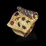 Ювелирные изделия с камнями - украшения из белого и желтого золота