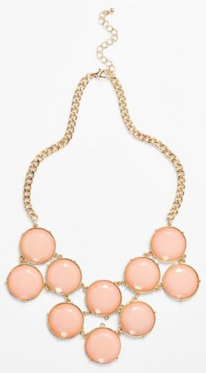 sweet statement necklace