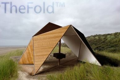 Folding shelter
