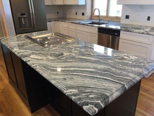 Die besten 25+ Granit küchentheke design Ideen auf Pinterest - küche granit arbeitsplatte