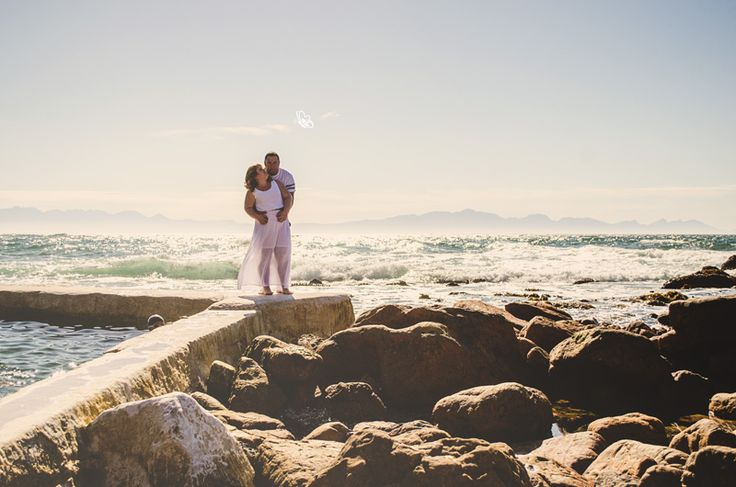 Engagement shoot at St James, Cape Town #engagementsession  #eshoot #bridetobe2017