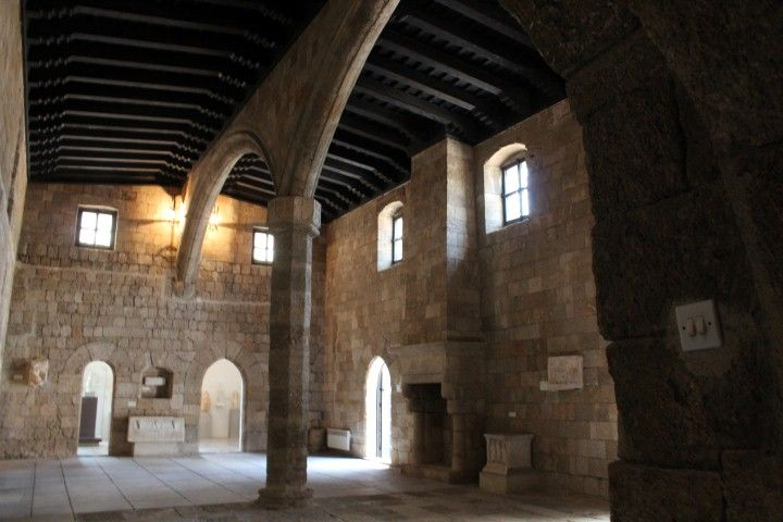 Great Hospital of the Knights - Refectory