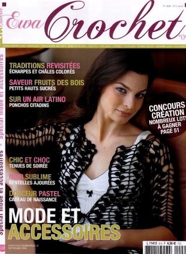 EWA CROCHET No.9 - modèles français