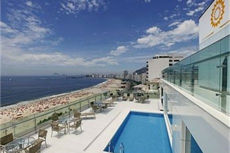 Arena Copacabana Hotel in Brazil Honeymoon Resort Photo. looking like quite the possibility of honeymoon locations
