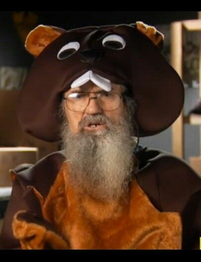duck dynasty si robertson in his beaver costume - Jase Robertson Halloween Costume