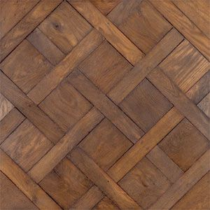 I've always loved patterned wood floors. If I ever renovate, I want floors like this.