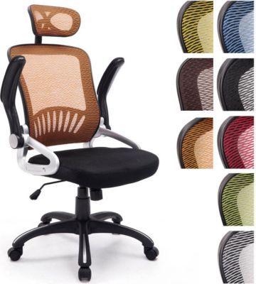 Büro-Stuhl JUSTIN mit Kopfstütze, Netzbezug, Schreibtischstuhl, Drehstuhl, Armlehnen klappbar, Kunststoff-Gestell, höhenverstellbar, Wippfunktion, Jetzt bestellen unter: https://moebel.ladendirekt.de/kueche-und-esszimmer/stuehle-und-hocker/klappstuehle/?uid=a954fffb-8f20-5d12-9d93-d7b2e2b3b815&utm_source=pinterest&utm_medium=pin&utm_campaign=boards #klappstuehle #kueche #esszimmer #hocker #stuehle