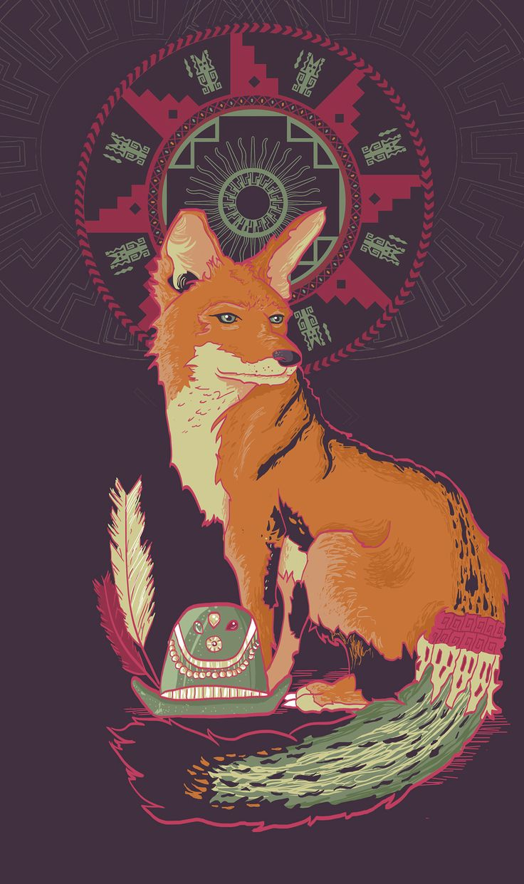 Zorro Culpeo // Colección Fauna Chilena on Behance