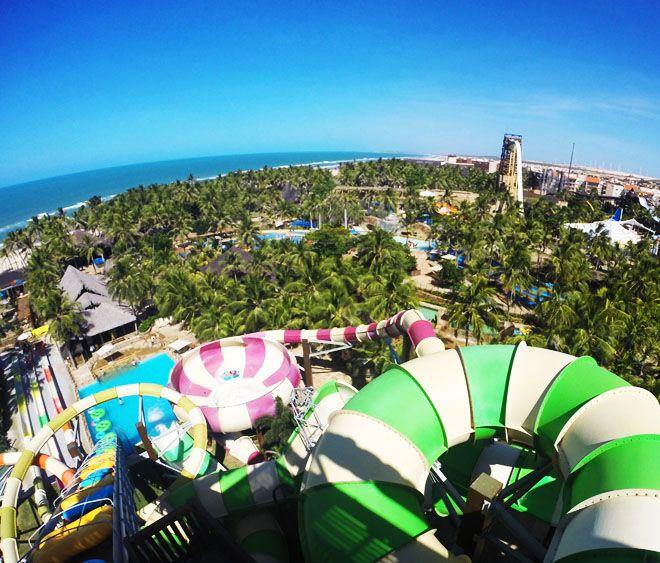 Beach Park: conhecendo o melhor parque aquático do Brasil