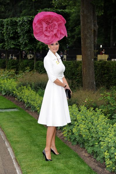 Isabella Kristensen attends Day 1 of Royal Ascot at Ascot Racecourse on June 18, 2013 in Ascot, England.