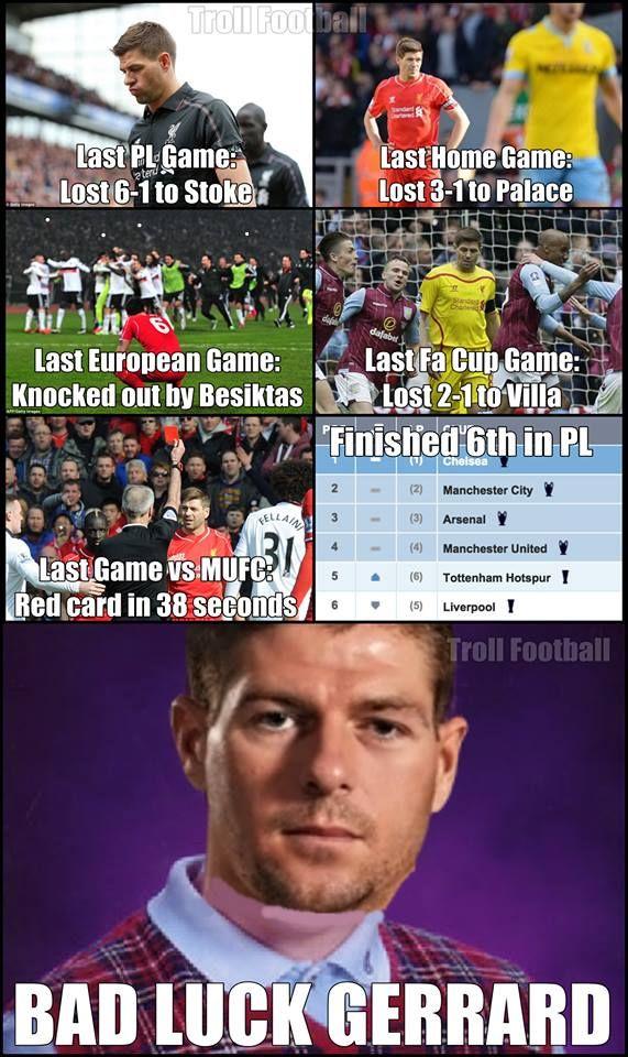 "Gerrard's last season with Liverpool FC"""