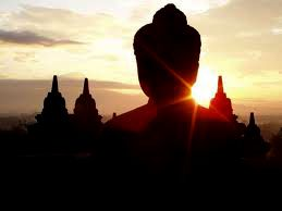 amazing to see the sun rise from the top of Borobudur temples