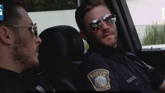 Edelman and Amendola hit the streets as 'Cops'