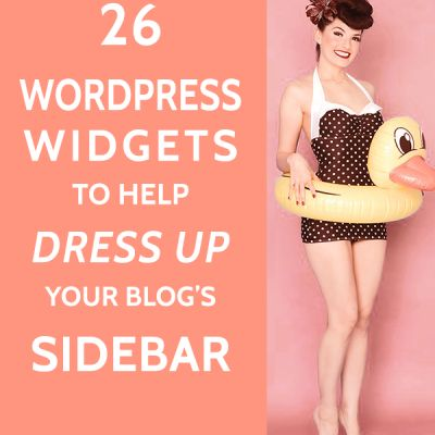 how to put a sidebar on your wordpress site
