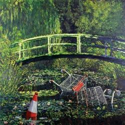 Modified art- Monet