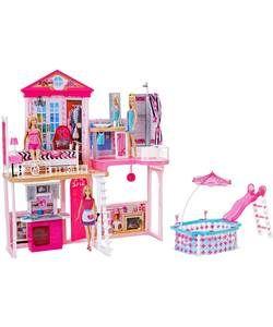 Complete Barbie Home Set.