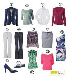 Met dit 13 is soms 31 garderobeplan heb je 'veel kleding om aan te trekken'. Outfits voor naar je werk, een feestje en familiebezoek, het zit allemaal in de 13 kledingstukken. In jouw kledingkast hangen ongetwijfeld een aantal vergelijkbare kledingstukken. …