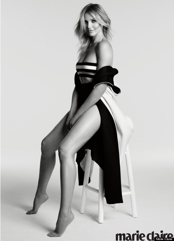 Cameron Diaz Covers Marie Claire, Dishes On Children, Modeling & Nudity