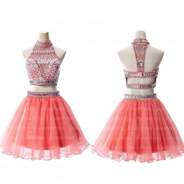 2 piece Homecoming Dresses, coral Homecoming Dresses, Cute Homecoming Dresses, Cheap Homecoming Dresses, Prom Dress Online, HM0025 sold by OkBridal. Shop more products from OkBridal on Storenvy, the home of independent small businesses all over the world.