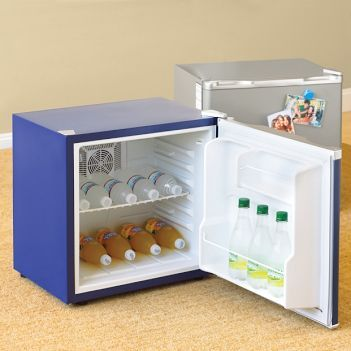 Though Pottery Barn Teen lists these cool mini fridges as a dorm room fridge, I beg to differ. Yes I am sure they go great in our kids college room, but they will look equally as fabulous in your home office or office space. These bad boys come in five different colors and are small …