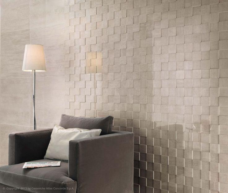 3D porcelain stoneware wall tile (European Eco-label) - MARK - Atlas Concorde - Videoshttp://rbctile.com/series/mark-wall/