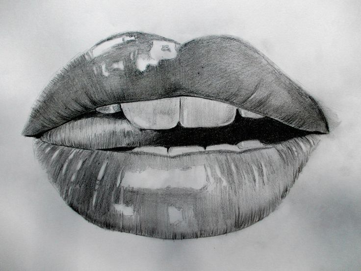 lips drawing tumblr - Google Search | caayutteee ... Pencil Drawings Of Lips Smiling