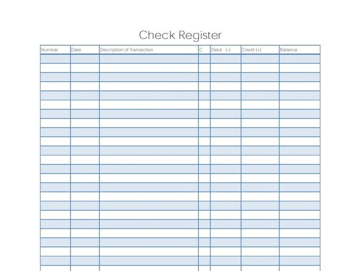 6  free blank business checkbook register template excel pdf example